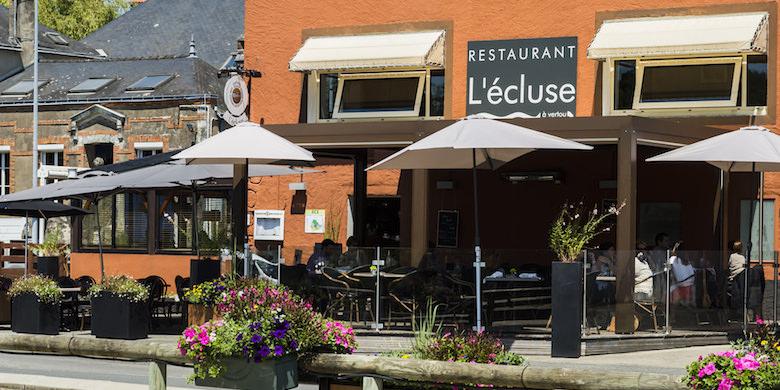 Bar de L'Ecluse à Vertou au bord de Sèvre